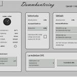 Styrsystemets gränssnitt - Dammstyrning