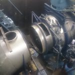 Nedmontering av turbinen